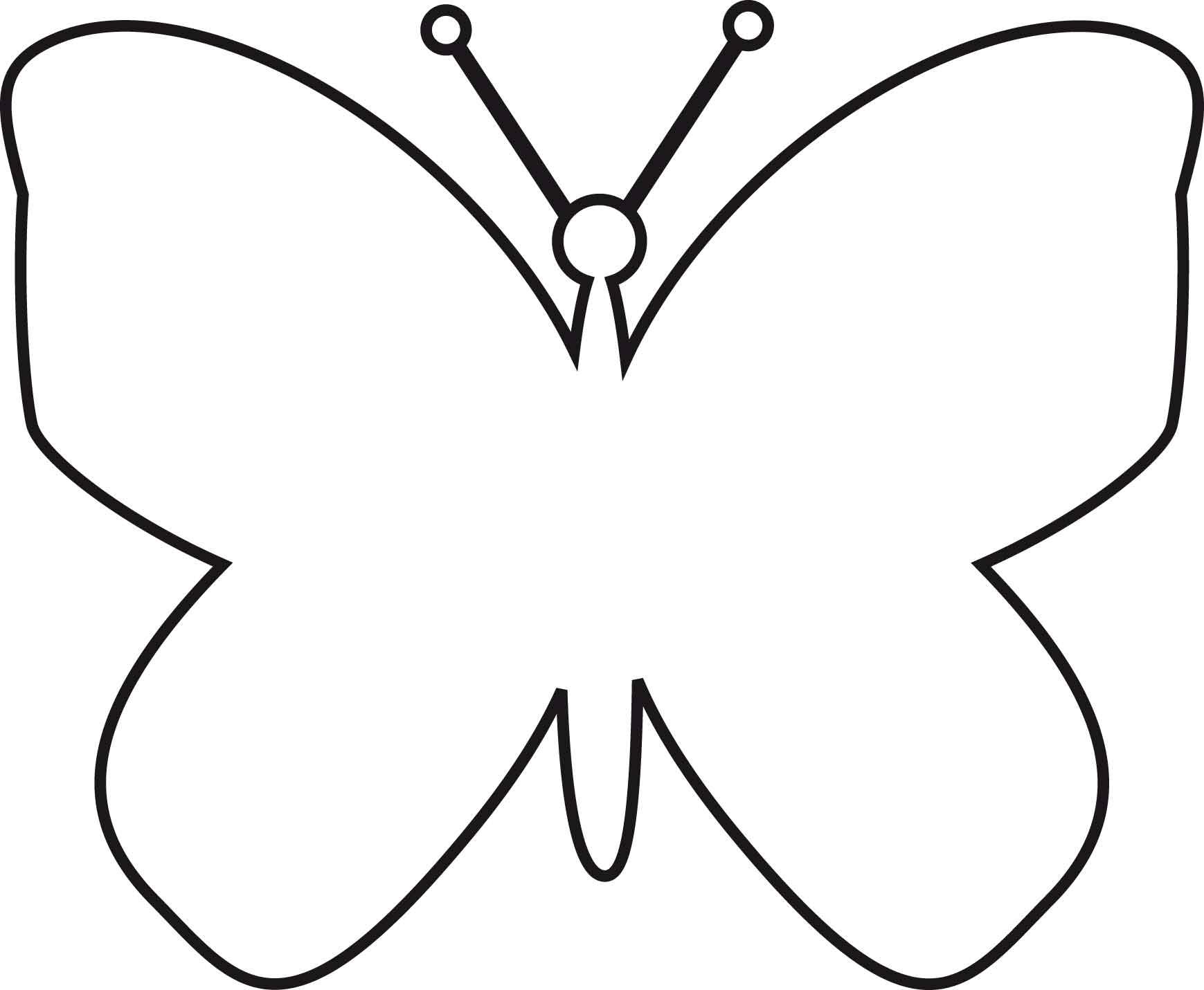 vlinder kleurplaat a4 vlinders kleurplaten